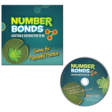 Essential Learning™ Number Bonds Addition and Subtraction To 99 Game, Grades k - 2