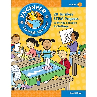 Essential Learning Engineer Through The Year Book, Grades K - 2