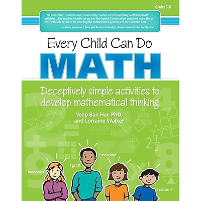 Essential Learning™ Every Child Can Do Math Book, Grades 3 - 8