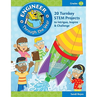 Essential Learning Engineer Through The Year Book, Grade 3 - 5 (ELP550249)