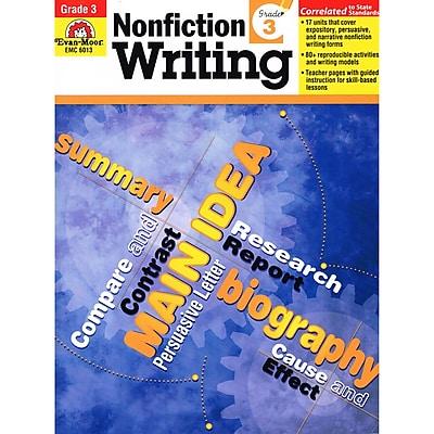 Evan-Moor® Nonfiction Writing Book, Grade 3