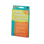 Edupress® Reading Project Nonfiction Activity Book, Grades 3 and Above