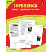 Edupress® Inference Reading Comprehension Activity Book, Red Level