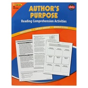 Edupress® Authors Purpose Reading Comprehension Activity Book, Reading Levels 3.5 - 5