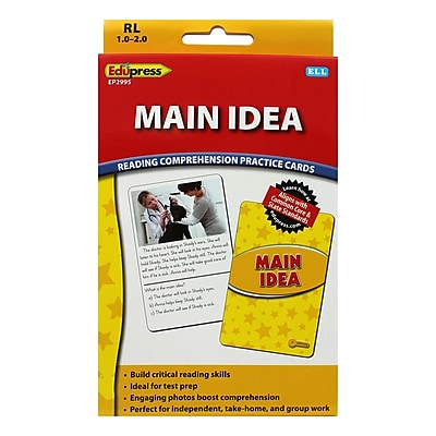 Edupress® Main Idea Reading Comprehension Flash Cards