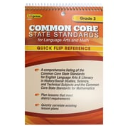 Edupress® Common Core Standards F/Language Arts & Math Quick Flip Reference, Grade 2