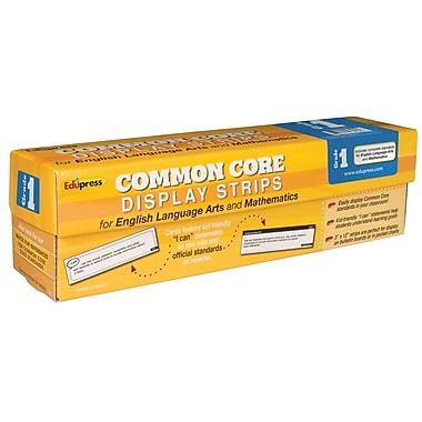 Edupress® Common Core State Standards Display Strips, Grade 1