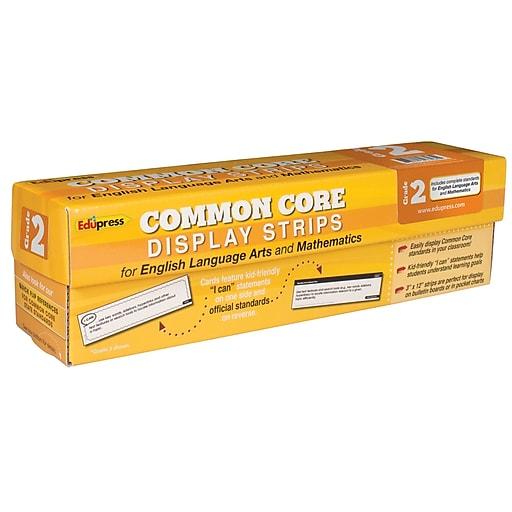 Edupress® Common Core State Standard Display Strips, Grade 2