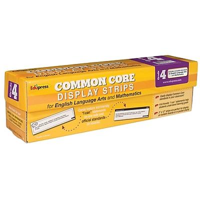 Edupress® Common Core State Standard Display Strips, Grade 4