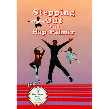 Educational Activities Stepping Out With Hap Palmer DVD