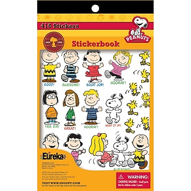 Eureka® Sticker Book, Peanuts®