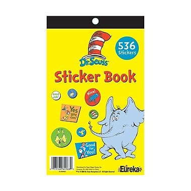 Eureka Sticker Book, Dr Seuss (EU-609720)