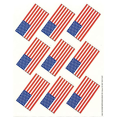 Eureka® Giant Stickers, US Flags