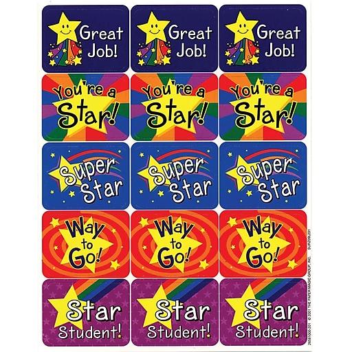 Eureka Stars Success Stickers, 120 ct. (EU-658100)