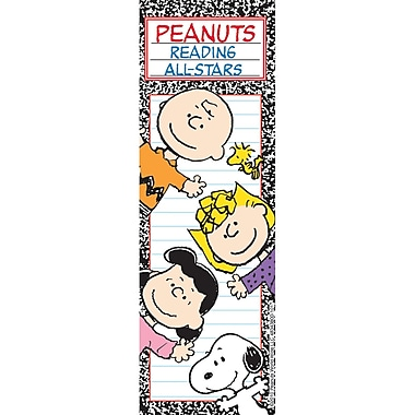 Eureka Peanuts Reading All Stars Bookmarks, 36/Pack (EU-834380)