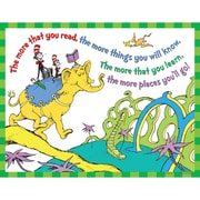 "Eureka® 17"" x 22"" Dr Seuss ""The More You Read"" Poster"