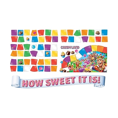 Eureka Mini Bulletin Board Set, Candy Land How Sweet (EU-847699)