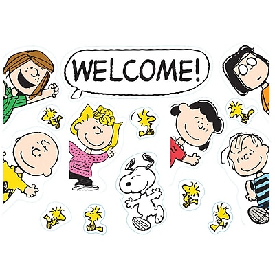 Eureka® Peanuts® Welcome Go-Around® Poster