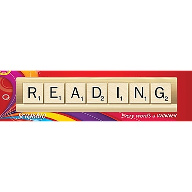 Eureka® Scrabble™ Reading Classroom Banner