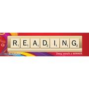 Eureka® Scrabble™ Reading Classroom Banner