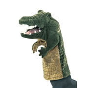 Folkmanis® Crocodile Stage Puppet, 13""