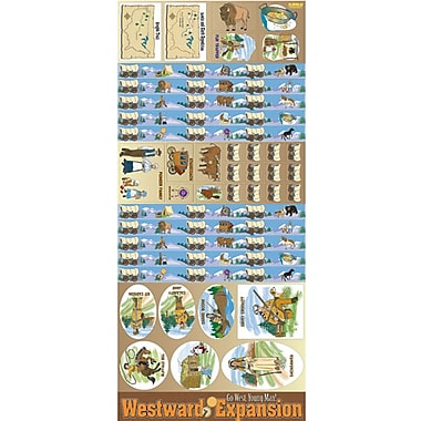 Gallopade All-In-One Bulletin Board Set, Westward Expansion
