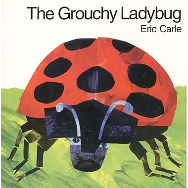 Harper Collins – Livre cartonné The Grouchy Ladybug (HC-069401320X)