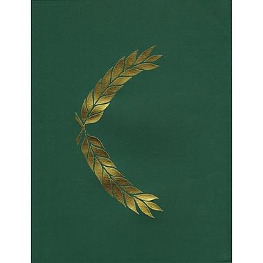 Hayes® Embossed Presentation Folder, Green