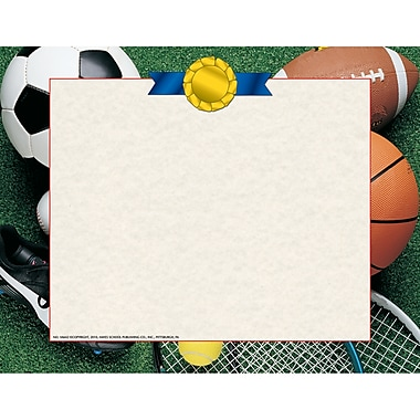 Flipside Athletic Certificate Border Computer Paper, 30/Pack (H-VA642)