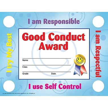 Flipside Good Conduct Certificate/Reward Seal, 30/Pack (H-VA803)