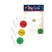 Hygloss Traffic Light Signage Kit, 6/Pack