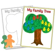 Hygloss My Family Tree Poster, Creative Learning