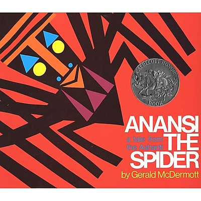 MacMillan Publishing Anansi The Spider Book