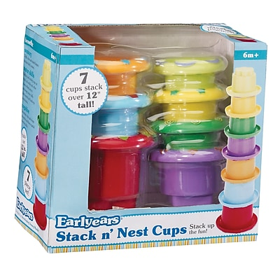 International Playthings Stack n' Nest Cups Educational Toy