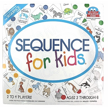 Jax Sequence For Kids Game, Grade Toddler - 1 (JAX8004)