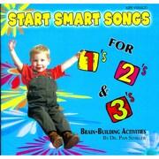 Kimbo Start Smart Songs for 1's 2's & 3's CD (KIM9184CD)