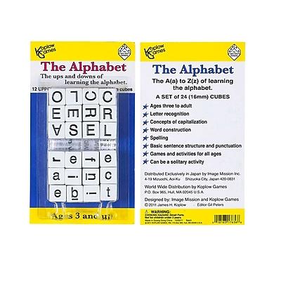 Koplow Games Alphabet Dice Game, Grades PreK - 12, 24/Pack