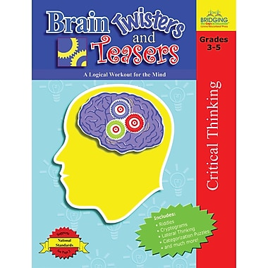 Lorenz Educational Press® Brain Twisters and Teasers Book, Grade 3 - 5 (LEP901035LE)