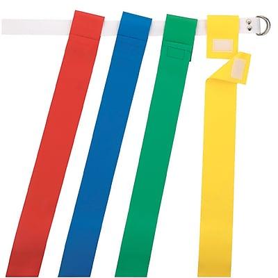 Martin Sports Football Flag Set, Blue, 12/Set