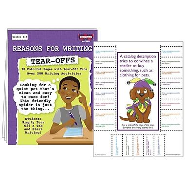 McDonald Publishing Reasons For Writing Tear Offs Activity Book, Grade 4 - 9
