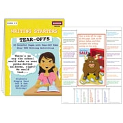 McDonald Publishing Writing Starters Tear Offs Activity Book, Grade 4 - 9