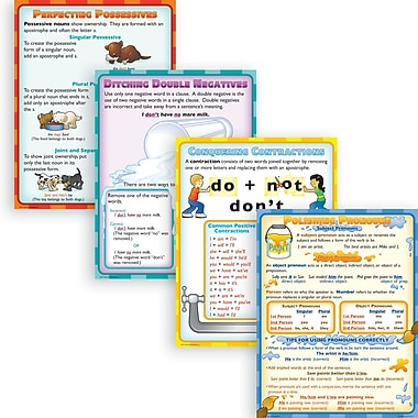 McDonald Publishing Grammar Do's and Don'ts Poster Set, Language Arts