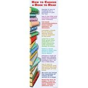 McDonald Publishing Choosing A Book Colossal Poster, Language Arts