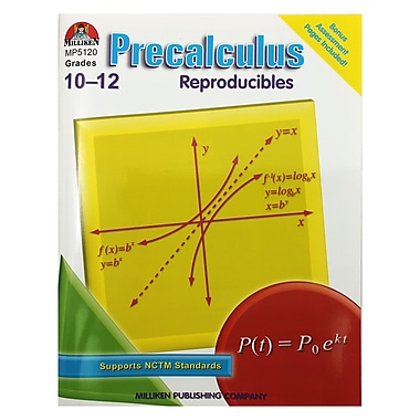 Lorenz Educational Press® Precalculus Reproducibles Book, Grade 10 - 12 (M-P5120)