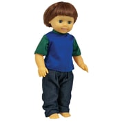"Get Ready Kids Caucasian Boy Multicultural Doll, 16"" (MTB631)"