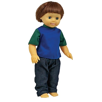 Get Ready Kids® Caucasian Boy Multicultural Doll, 16