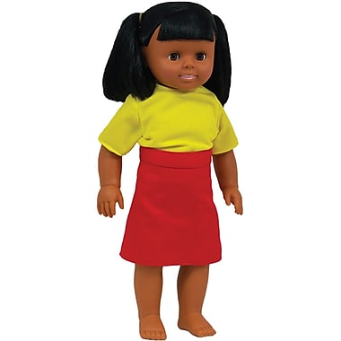 Get Ready Kids® Hispanic Girl Multicultural Doll, 16