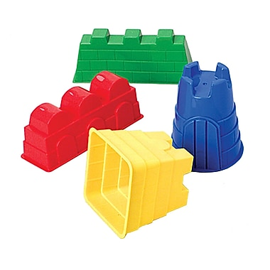 Marvel Education Sand Castle Mold, 4/Set (MTC171)