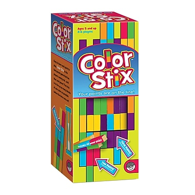 MindwareMD – Jeu de bâtonnets de couleur Colour Stix, prématernelle à 3e secondaire