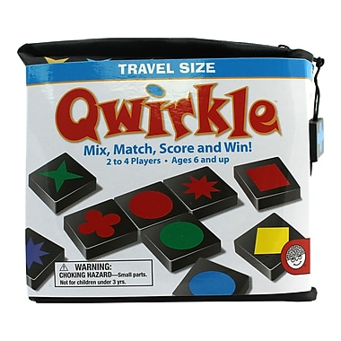 Mindware Travel Qwirkle Game, Grade K - 9 (MWA52132W)